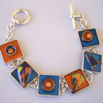 Water (Four Elements) Sterling Silver and Mixed Media Sterling Silver and Mixed Media