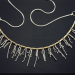 Icicles Collection- 14K Gold and Sterling Silver